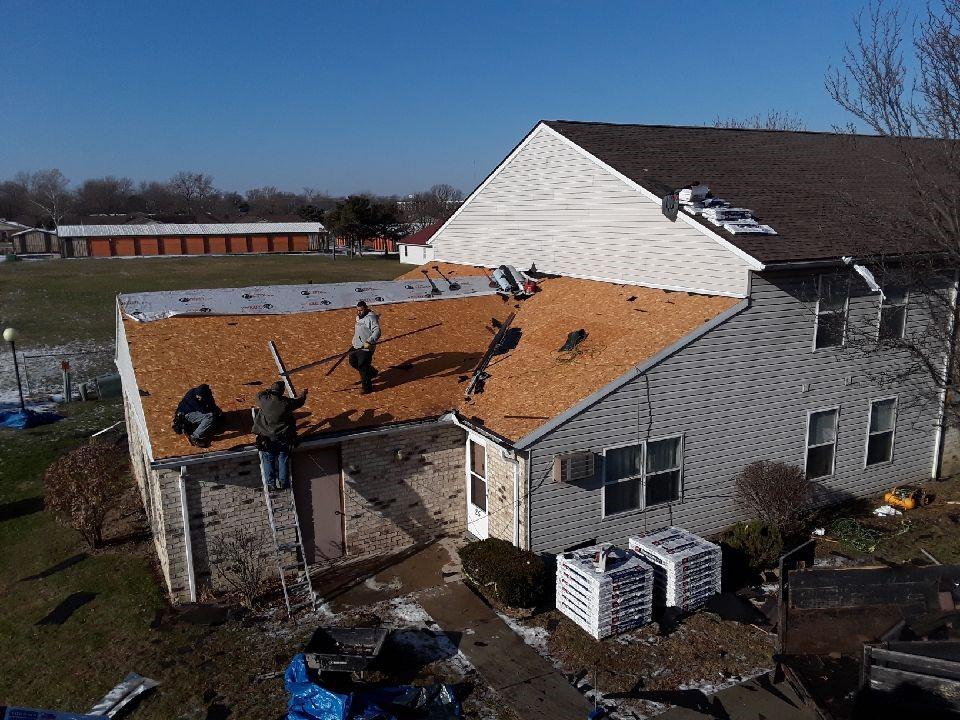 Apartment Roof Installation Canonsburg
