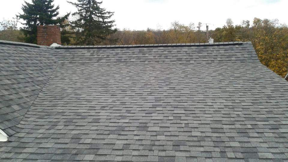 Perfectly installed Canonsburg Shingle roof