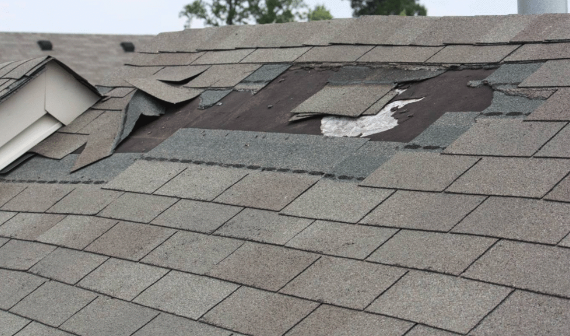 Damaged roofing Canonsburg-PA